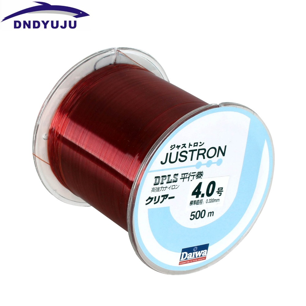 DNDYUJU RU Free Shipping Nylon Fishing Line 500m Monofilament Strong ...
