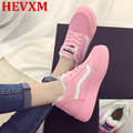 2016 Fashion Casual Female Candy Color Winter New Women Shoes Flat With Lace-Up Canvas Shoes  Plus Velvet Warmth Women Shoes