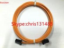 Большинство оптоволоконных кабелей-коннекторов типа «папа-папа» для Audi, BMW, mercedes и т. д., 90-100 см, новинка, оригинал