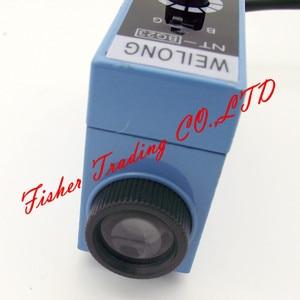 Image 4 - Farbe code weilong sensor NT BG22 NT BG23 für verpackung maschinen, metall lichtschranke lichtquelle eingestellt/blau und grün