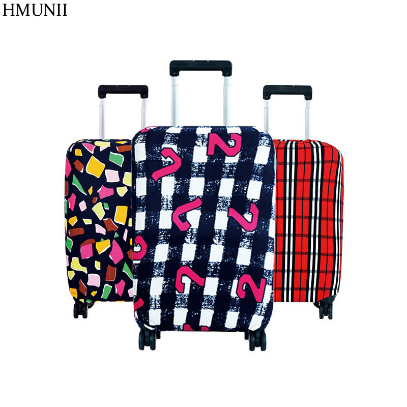 Hot Fashion Travel on Road Luggage Cover Protective Suitcase cover Trolley case Travel Luggage Dust cover for 18 to 30inch y road travel trolley luggage suitcase 100