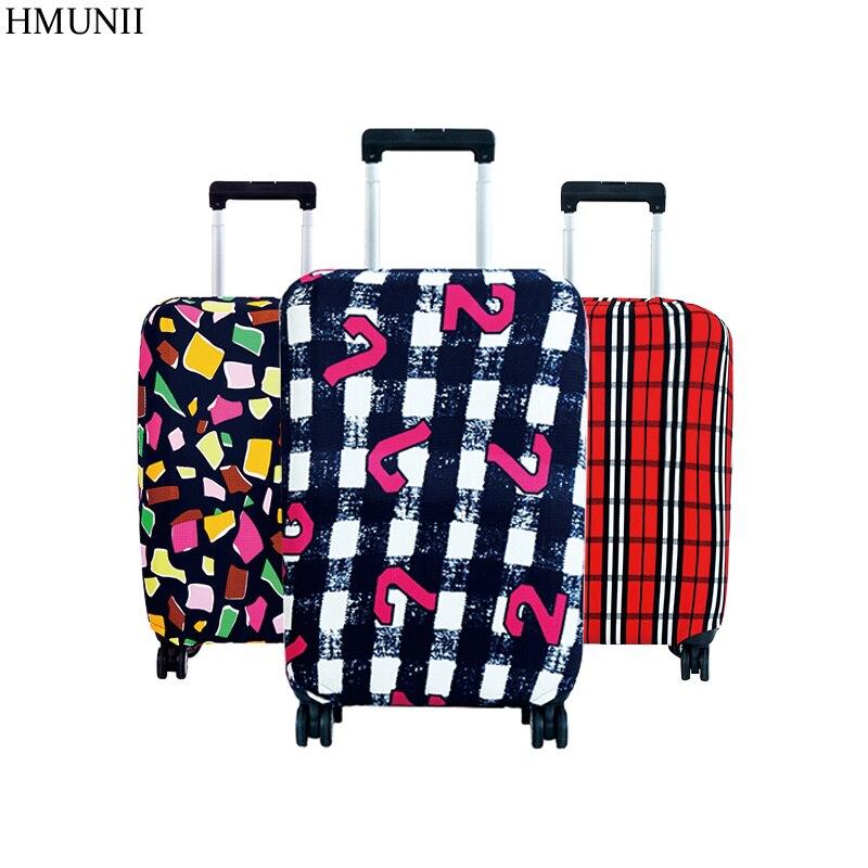 Hot Mode Reisen auf Straße Gepäck Cover Schützende Koffer abdeckung trolley Reisegepäck staubschutz für 18 bis 30 zoll