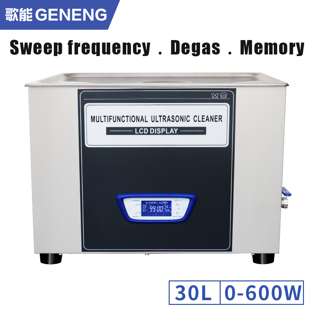 Digital Ultrasonic Parts Cleaner 2l Washer Cleaning Bath Oil Metal Generator Circuit Gt 120w 110v Power Adjust 30l 40khz Sweep Frequency Degass Function Board Degreaser Heated