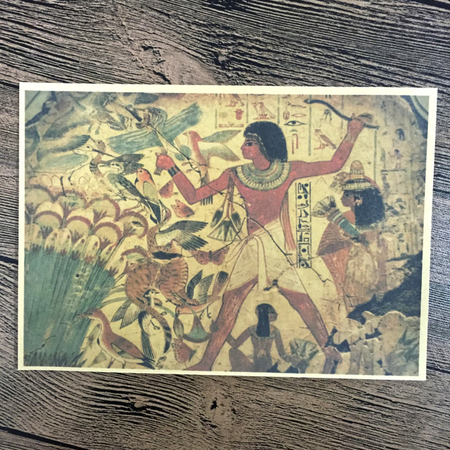 Aliexpress.com : Buy Punk Ancient Egyptian murals Vintage Poster ...