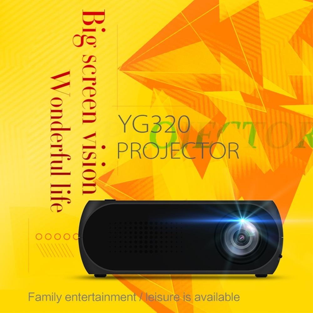 Portable Mini LED Movie Projector Home Theater Cinema Media Intelligent Display