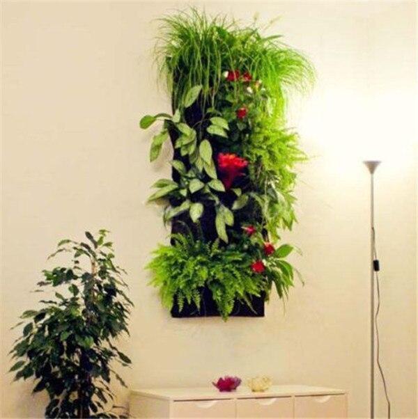 verticales garden pocket interior exterior colgante de pared jardinera
