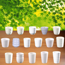 New Fashion Cup Melamine Tableware Ring Striae Chain Restaurant With A5