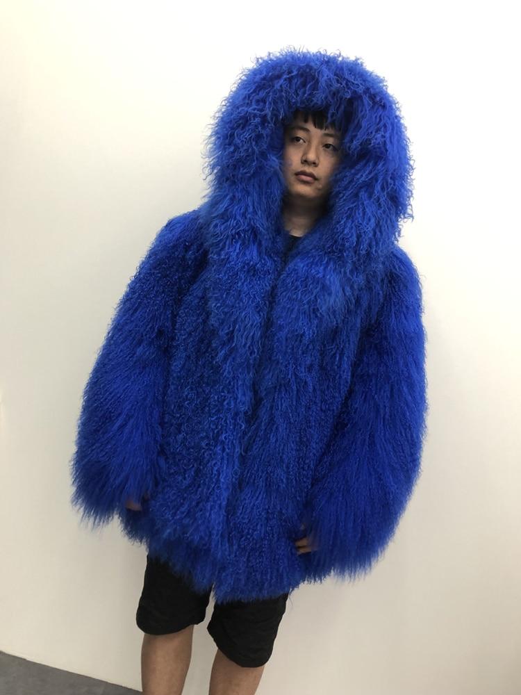 HTB1fUC.XQT2gK0jSZFkq6AIQFXab 2019 Men's real mongolian sheep fur coat hooded warm winter outerwear lapel beach wool fur overcoat long sleeve Jacket