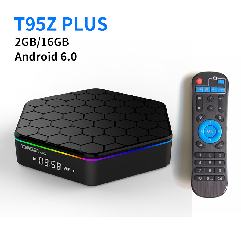 S912 T95Z Plus Android 6.0 Smart TV Box Amlogic 2G 16G TV Box KODI Reproductor M
