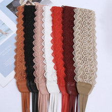 Plus Size Belt Red Designer Leather Lace Black Belts For Women Ladies Corset Wide Rope Waistband Ribbon Fashion 2019 girls