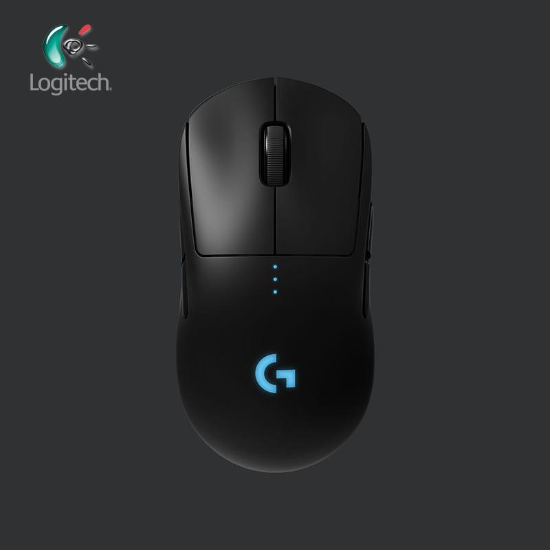 Logitech G PRO Wireless Gaming Mouse RGB Dual Mode with HERO 16K DPI Sensor LIGHTSPEED Laser