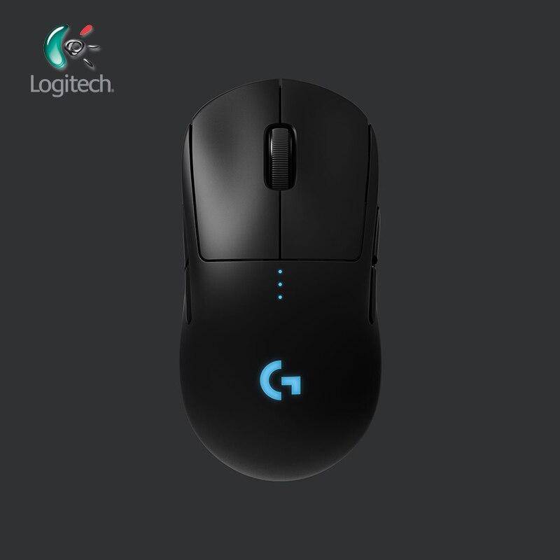 Logitech G PRO Беспроводная игровая мышь RGB двойной режим с датчиком HERO 16 K dpi LIGHTSPEED Лазерная геймерская мышь POWERPLAY Совместимость