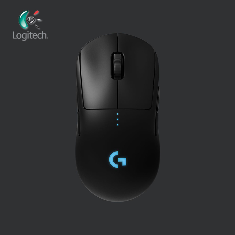 Logitech G PRO Mouse Da Gioco Wireless RGB Dual Mode con EROE 16 K DPI Sensore LIGHTSPEED Laser Gamer Mouse POWERPLAY compatibile