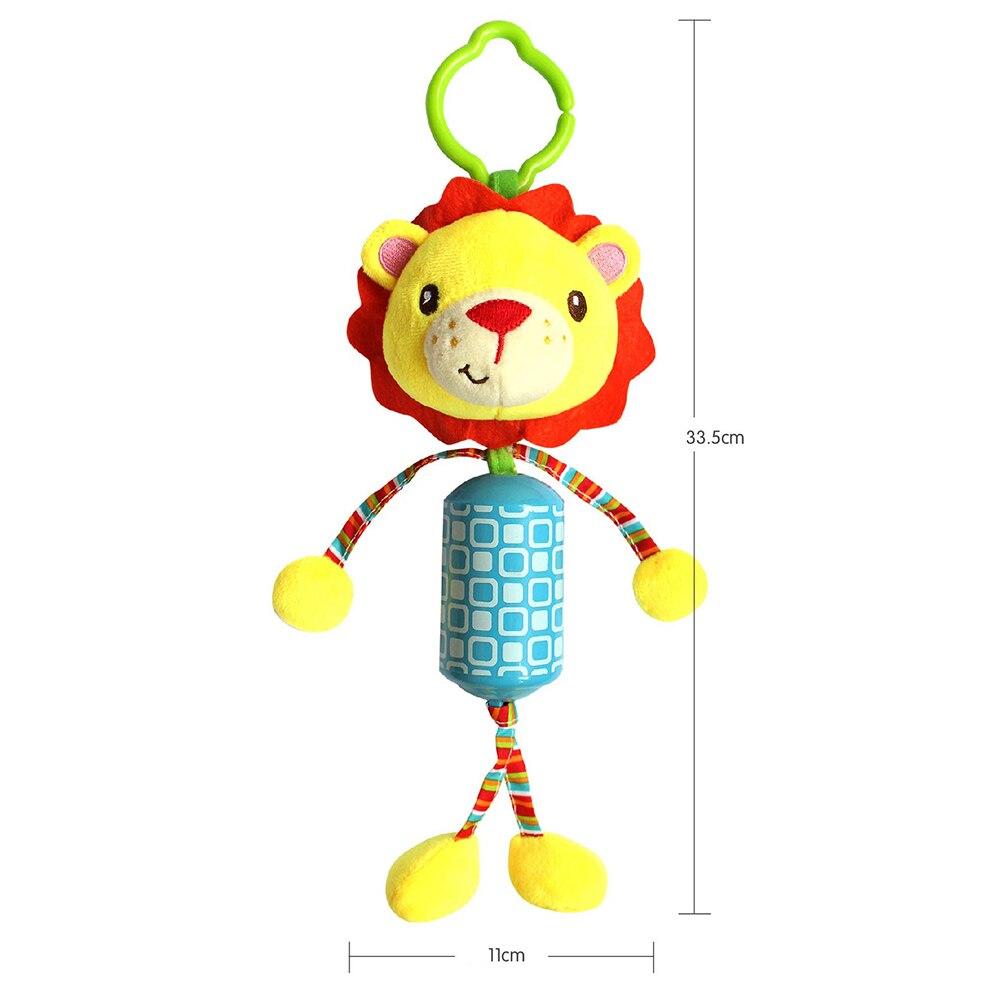 Cute Baby Animal Lion Elepgant Ընձուղտ Monkey Փափուկ - Խաղալիքներ նորածինների համար - Լուսանկար 5