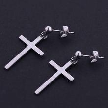 Yonggang крест кулон серьги унисекс гвоздики для мужчин и женщин