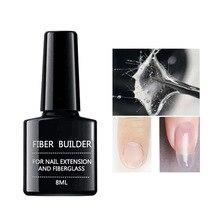 8ml Nail Extension Nailfiber Fiberglass Gel Acrylic Tips Phototherapy Form Manicure DIY for Salon