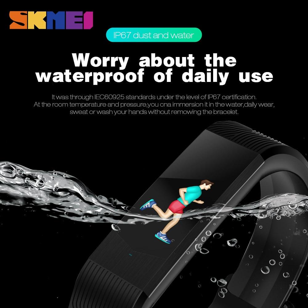 Smartwatch Sport Fitness Tracker Sport Outdoor Smartband Waterproof HeartRate Blood Pressure Bracelet 3D Women Smart Watches