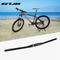 Ultralight Bicycle Carbon Straight Handlebar Bike Carbon Fiber Handle Bar MTB Cycling Parts Bicycle Flat Handlebar 31.8 x 730mm