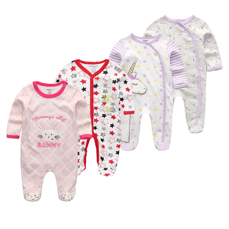 Baby Boys Rompers Soft Cotton Baby Unisex Rompers Overalls Newborn Clothes Long Sleeve Roupas de bebe Infantis Girl clothing Set