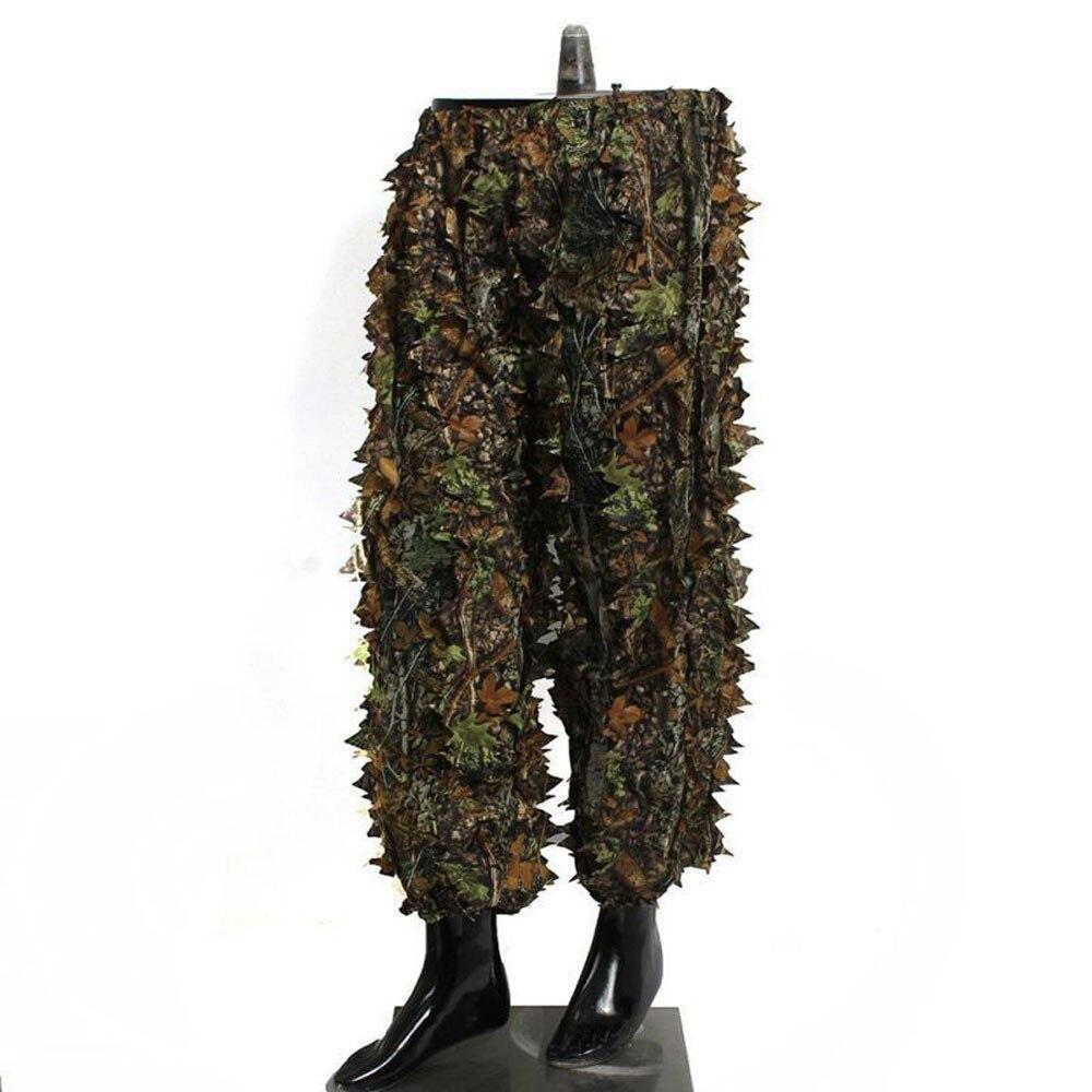 caca ghillie terno 3d camo bionico folha 04
