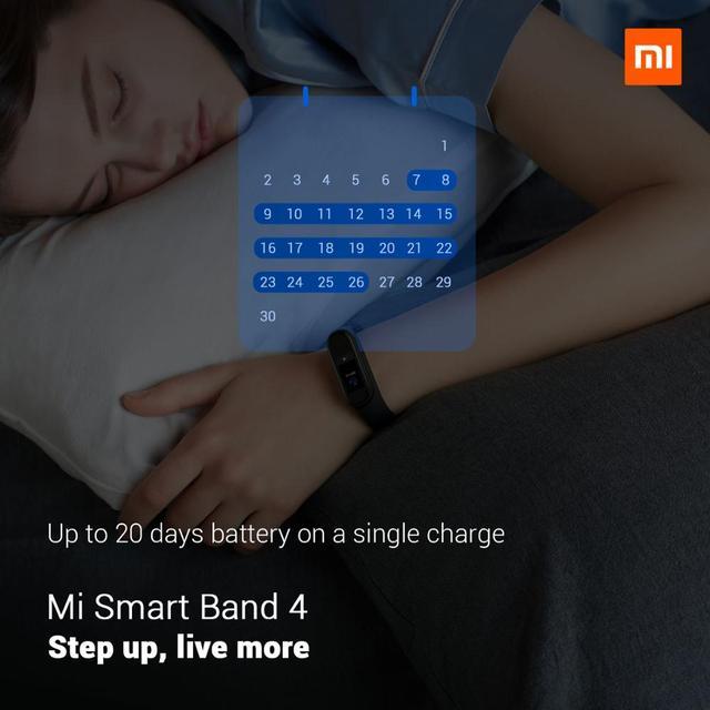 Global Version Xiaomi Mi Band 4 reloj inteligente ritmo cardíaco actividad rastreador pulsera pantalla colorida banda inteligente 135 mAh