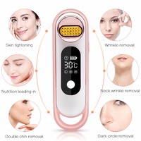 RF Facial Beauty Machine Electric Face Lifting Tighten Remove Wrinkle Massager Rejuvenation Anti aging Shrink Pores Device