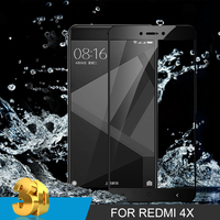 3D Curved Full Cover Tempered Glass For Xiaomi Redmi Note 4 4A 4X Screen Protector For Xiaomi Mi 6 5 5S Plus Protector Film