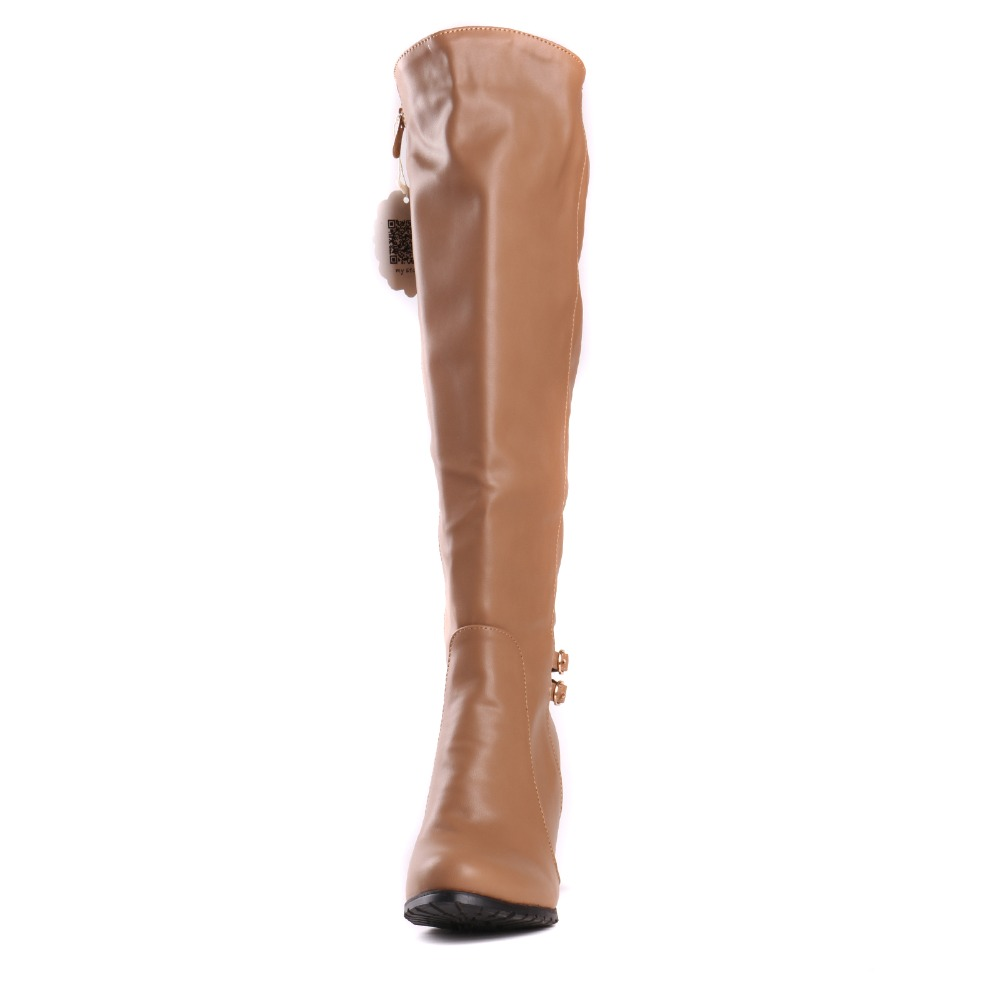 MAZIAO shoes women boots Knee-High mujer Botas high heels shoes fashion Knight boots high quality sexy woman boots plus size 43