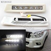 MZORANGE 1 Set 12v CAR LED DRL Daytime Running Light For Toyota Prado FJ150 LC150 2010