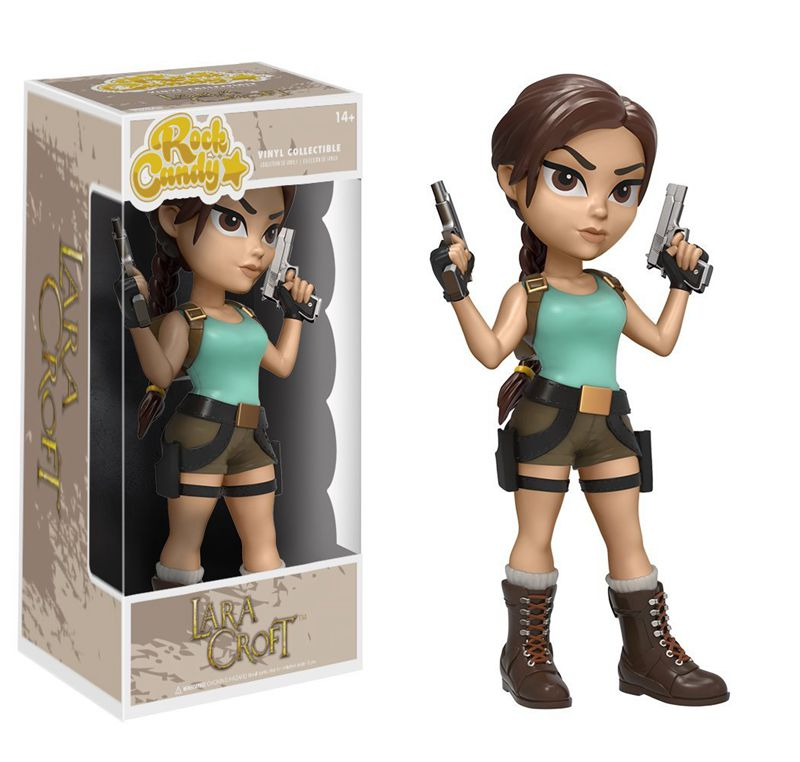 Official Funko Rock Candy Tomb Raider Lara Croft Vinyl Action Figure Collectible Model Toy with Original Box чайник lara lr00 05