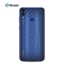 For Huawei Honor 8C 3D Carbon Fiber Back Cover Protective Film for Mate 20