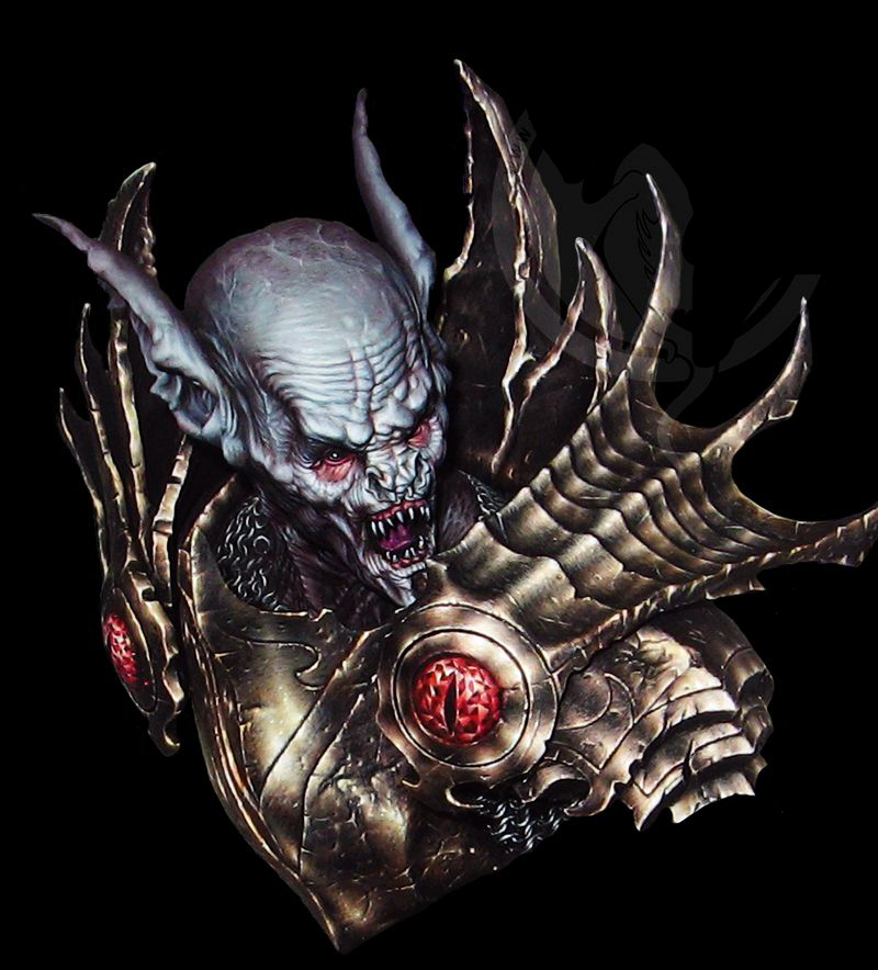 1/10 Seraphim The Hunter Zombie Fantasy Bust   Toy Resin Model Miniature Resin Figure Unassembly Unpainted