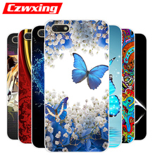 For Huawei Y5 Prime 2018 Case Silicone TPU Cover Phone DRA-L22 DRA-LX2 Y5Prime