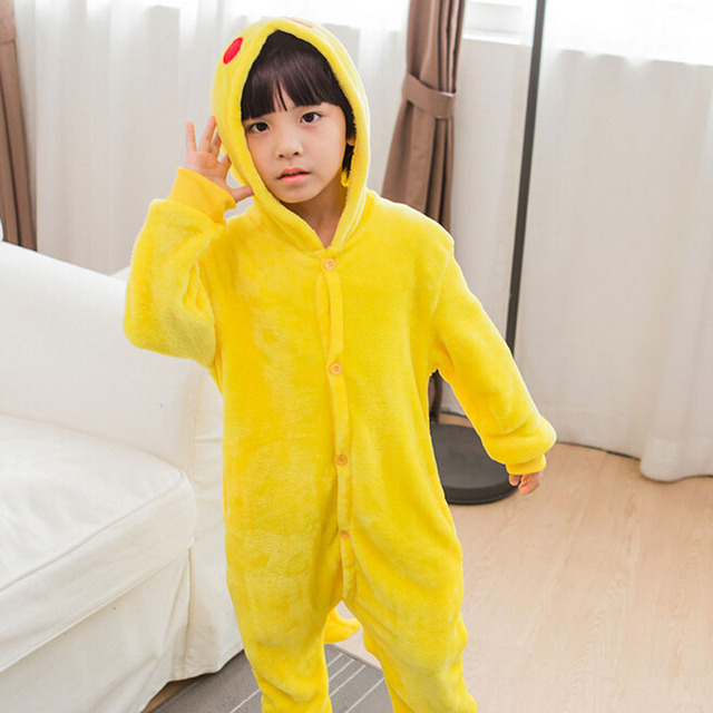 Animals Kigurumi Unicorn Costume Adult Girl kids Unicorn Onesie Flannel Panda Totoro Women Anime Jumpsuit Disguise Onepiece Suit