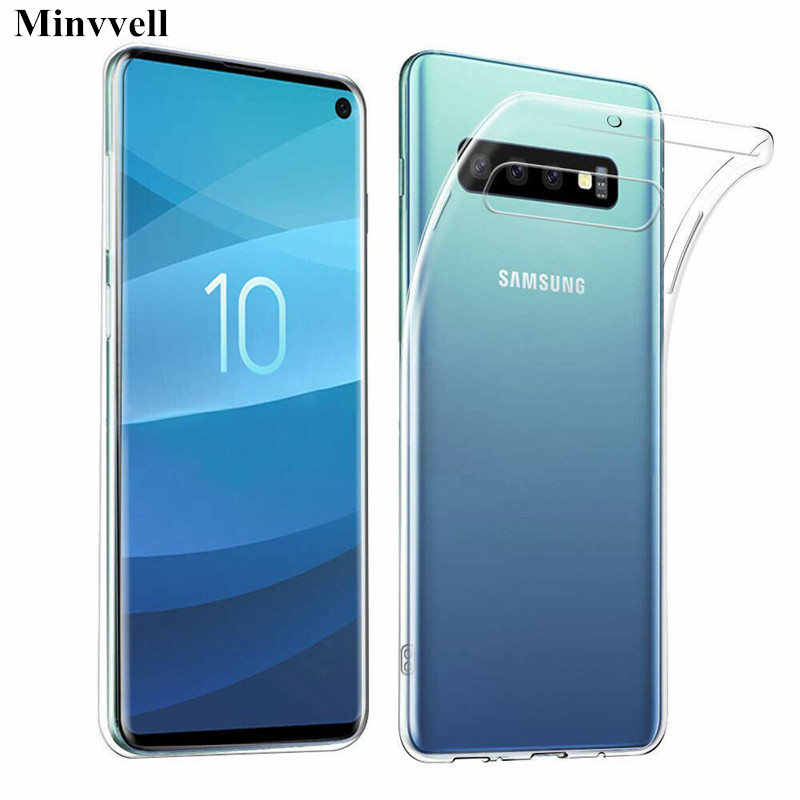 Transparante Zachte TPU Case Voor Samsung Galaxy S10 Plus S10 Telefoon Case Siliconen Voor Samsung S10 S10E Note 9 8 s9 S8 S7 Clear Case