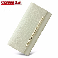 ZOOLER Hot Genuine Women Small Wallet Tassel Cowhide Leather Short Coin Purse Vintage Wallet Brand High