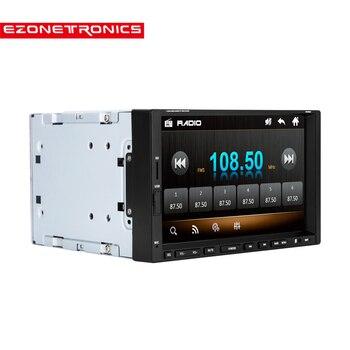 цена на Car 2DIN 7inch screen Support Rear Camera Car Stereo MP4 Player 12V Car MP5 Audio Bluetooth/hands free/USB/Remote Control CW9301