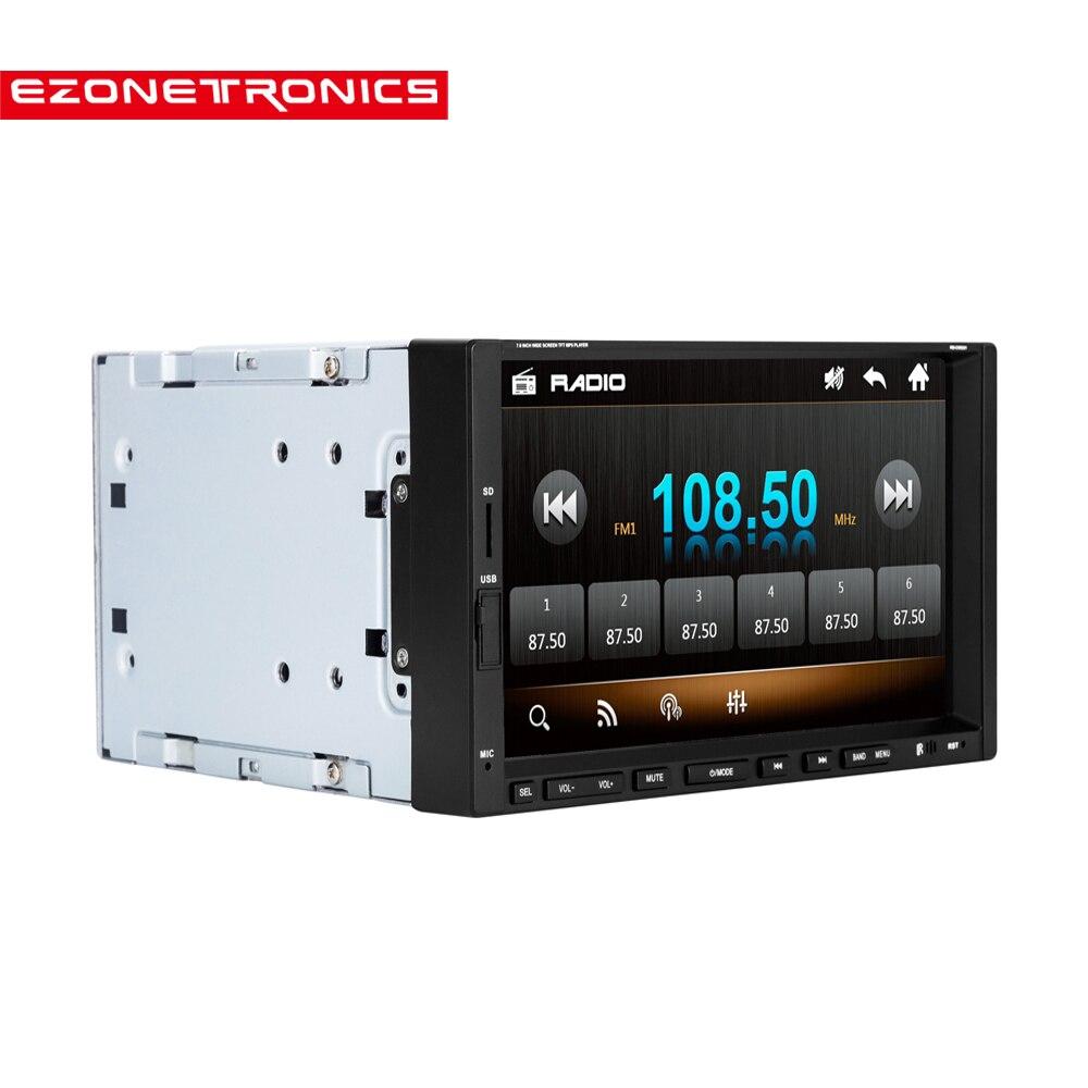 Voiture 2DIN 7 pouces écran Support caméra arrière voiture stéréo MP4 lecteur 12V voiture MP5 Audio Bluetooth/mains libres/USB/télécommande CW9301
