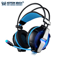 Função de vibração bln kotion each g7000 headband gaming fones de ouvido fone de ouvido fone de ouvido para o jogo de computador surround 7.1 canais mic