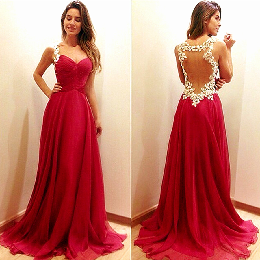 Women Evening Party Dress Elegant Floor Length Long Backless Halter Lace Dresses High-waisted Clothes Sleeveless H364