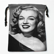 J w9 New Marilyn Monroe 4 Custom Printed receive Bag Compression Type drawstring bags size 18X22cm