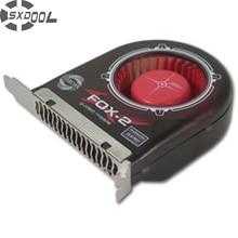 SXDOOL Cáo 2 Khung Xe Quạt Khung Xe Hút Khung Xe Làm Mát/PCI Bit Quạt
