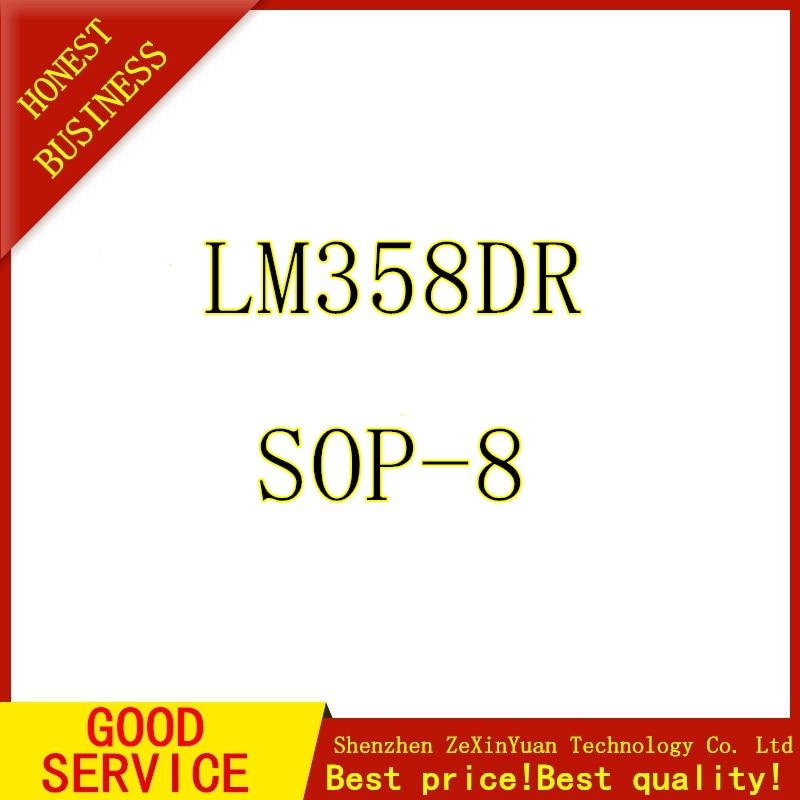 500pcs/lot New LM358 LM358DR LM358DT operational amplifier SOP-8 Low power  IC