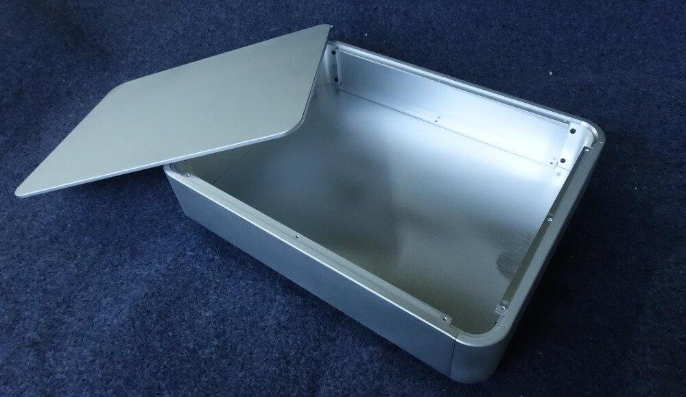 4308 филе алюминиевый усилитель мощности шасси предусилитель корпус DAC box Размеры 430*80*330