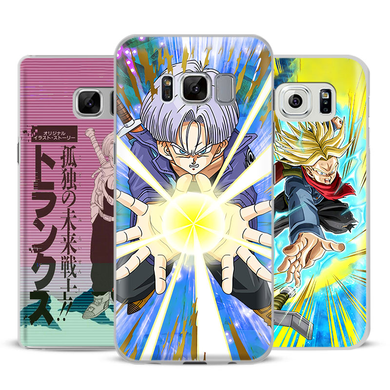Genteel Dragon Ball Z Dbz Trunks Phone Case Cover For Samsung Galaxy S4 S5 S6 S7 Edge S8 S9 Plus Note 8 2 3 4 5 A5 A7 J5 2016 J7 2017 Half-wrapped Case Phone Bags & Cases
