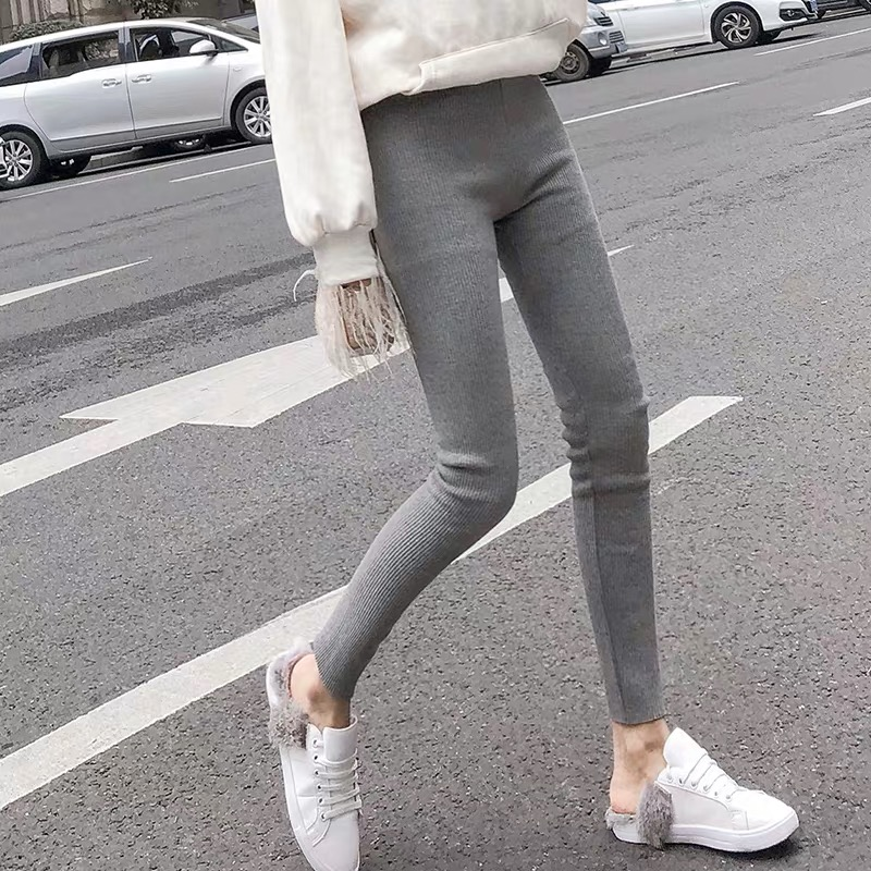 Mianziduo 2019  Women's Leggings For New Design High Elasticity And Comfortable Good  Quality Free Shipping Cotton Pants