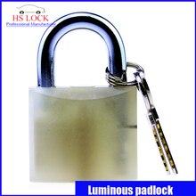 2016 50 MM cajas de candado de bloqueo de energía Luminosa Fluorescencia Gestión nueva llegada práctica lock candado Cerradura De Seguridad Industrial