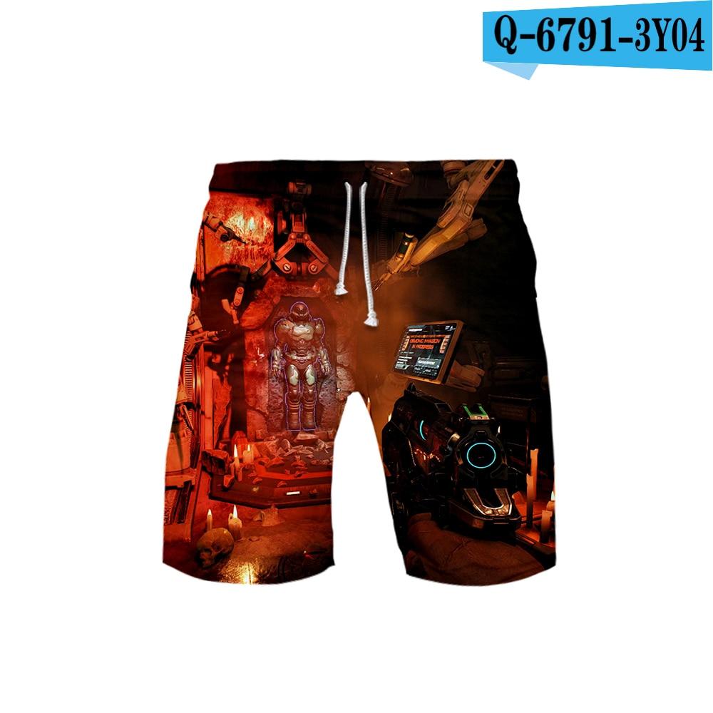FORTUN Mens Beach Pants Printed Swim Shorts Beach Shorts