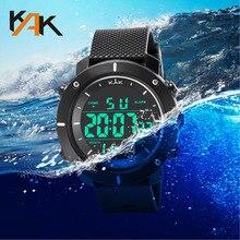 Wristwatch Military Sport Men LED Electronic Wrist Watch Luxury Digital Design Watches Men Outdoor Waterproof Life Quartz Watch цена и фото