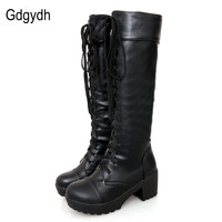 Martin Boots Fashion Boots 2014 New Autumn And Winter High Heeled Women S Shoes Boots Lacing